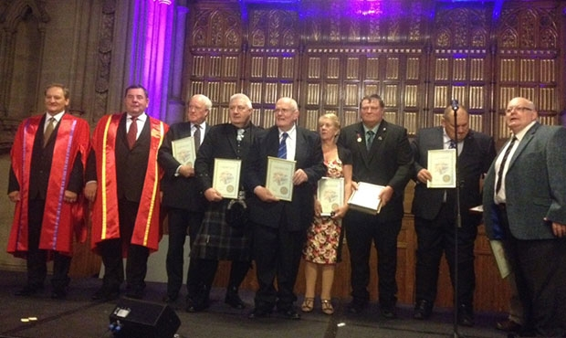 Manchester Town Hall hosted a gala reception marking the start of the II President's Sambo Cup