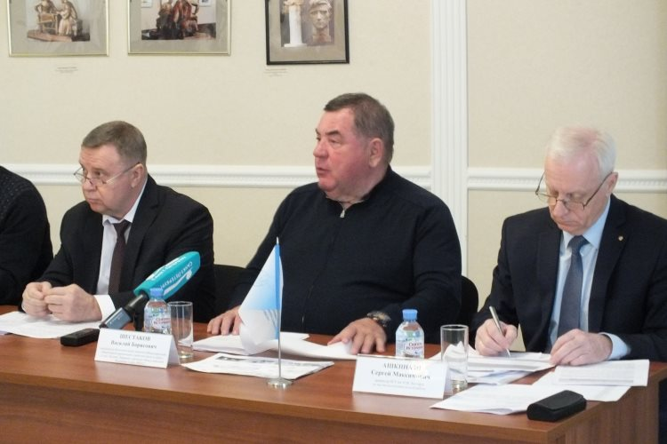 Press Conference with Participation of FIAS Head Vasily Shestakov Held in St. Petersburg