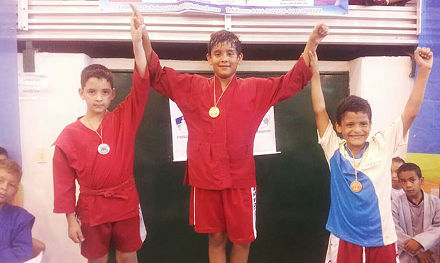 Venezuela is preparing for the World Sambo Championship among youth from childhood