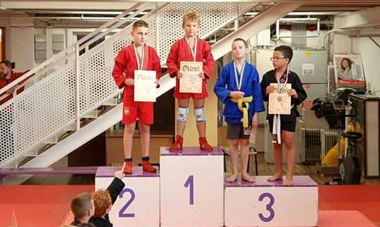Budapest SAMBO Open Children Tournament was held in Hungary