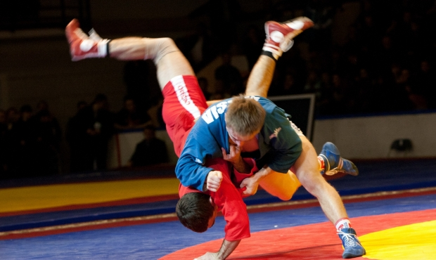 Draw of the First Day of the World University Sambo Championships 2016 in Nicosia