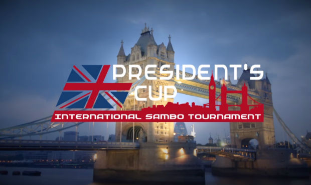 President's Sambo Cup in Great Britain 2014. Video-announcement