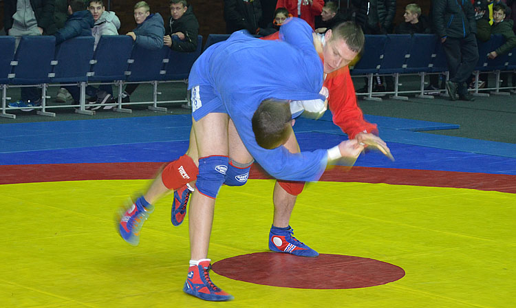 The Youth and Junior SAMBO Championships of Ukraine was held in Kharkov