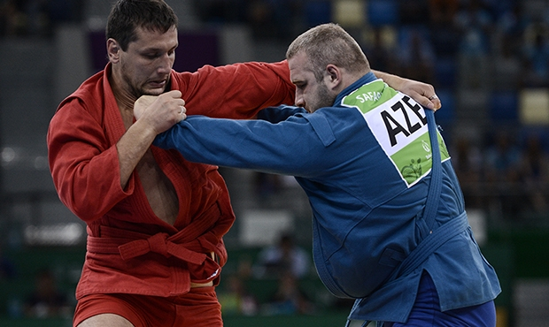 VIDEO: All Sambo Finals at the I European Games in Baku 2015