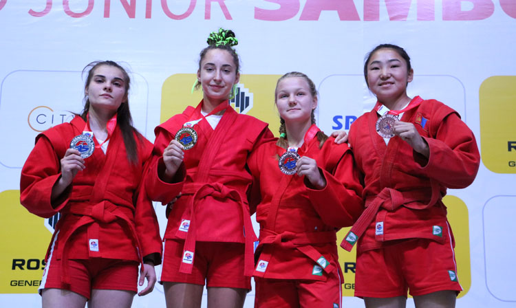 Reflections of the Winners of the 1st Day of the World Youth and Junior SAMBO Championships in Tashkent