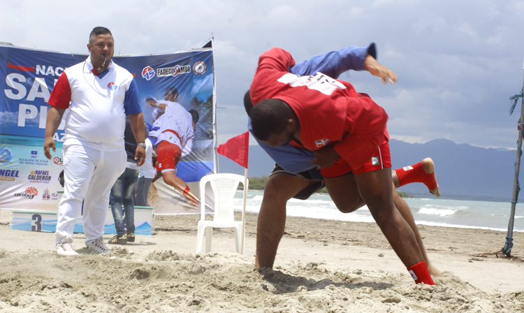 National Beach SAMBO Championships was held in the Dominican Republic