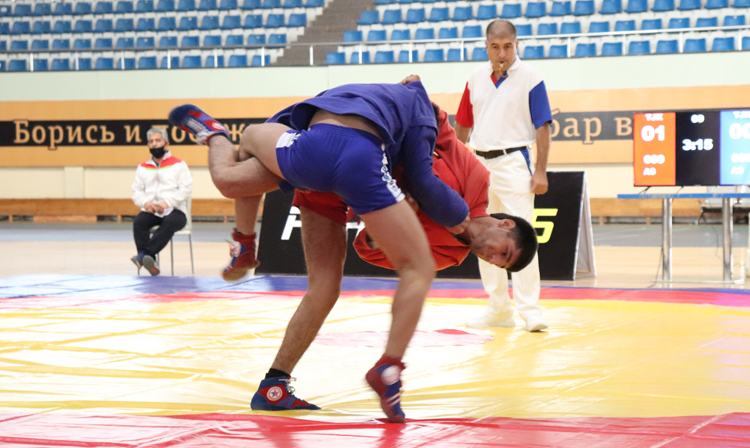 Tajikistan Youth and Junior SAMBO Championship was held in Dushanbe