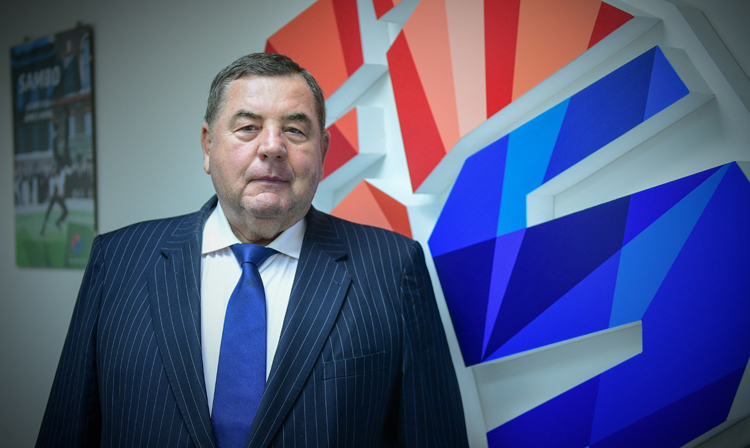 Vasily Shestakov was re-elected to the post of President of the International SAMBO Federation