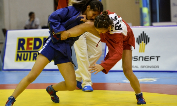 [FIAS TV] Youth and Juniors World Sambo Championships 2016 in Romania. Day 2
