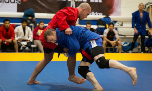 The first ever Australian SAMBO Championship was held