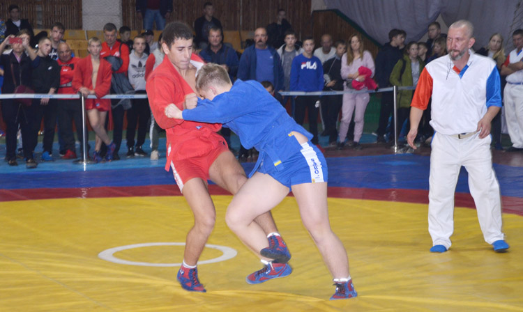 Ukrainian Cadets SAMBO Championships was held in Lviv