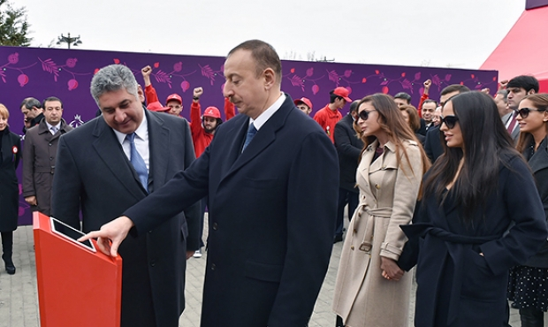 Ilham Aliyev bought the first ticket to EuroGames in Baku