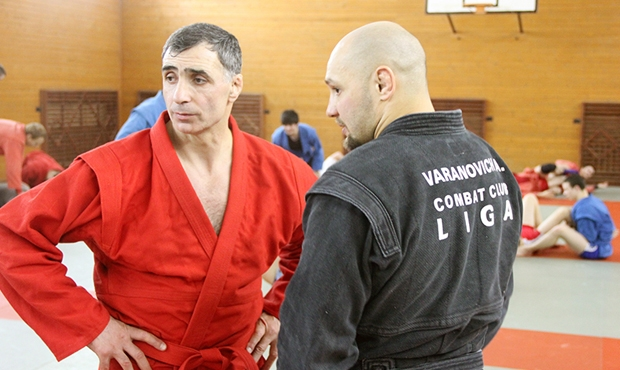 Workshop with Magomed Ramazanov was held in Minsk