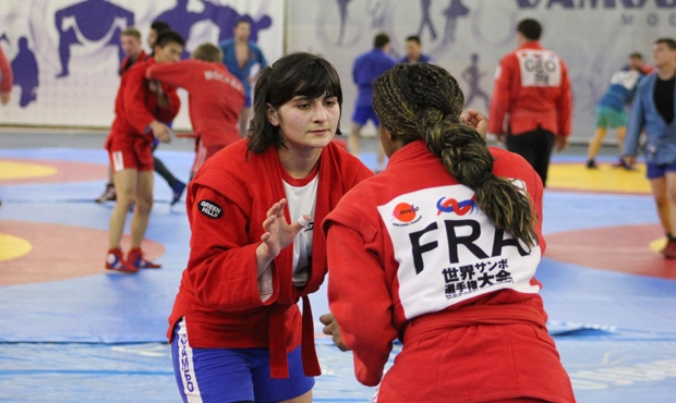 Photo report: the international sambo training camp in Moscow