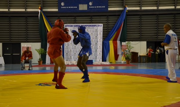 The first day of African Sambo Championships is over in Seychelles