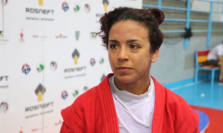 "Sanaa MANDAR: ""I've Got All the Good Things that can be Instilled in Someone who Practices SAMBO"""
