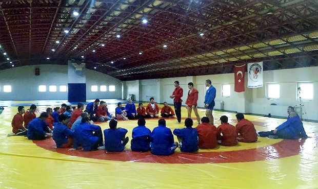 Hoping for medals: Sambo Workshop Took Place in Turkey