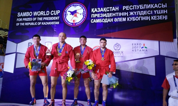 Winners of the 3rd Day of the International SAMBO Tournament on the prizes of the President of Kazakhstan
