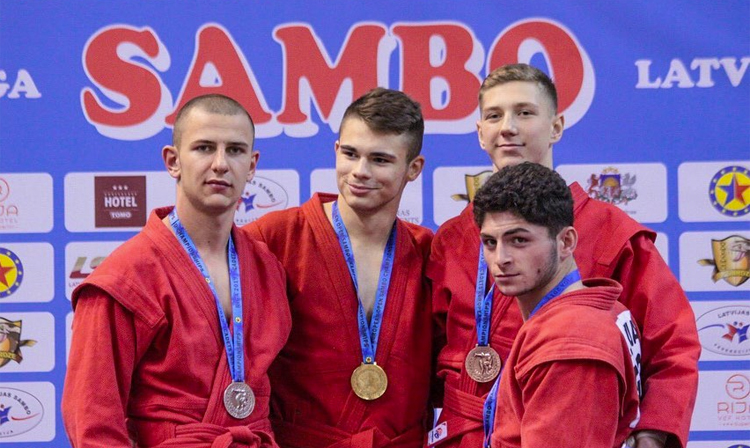 European Cadets SAMBO Championships: Results and Video