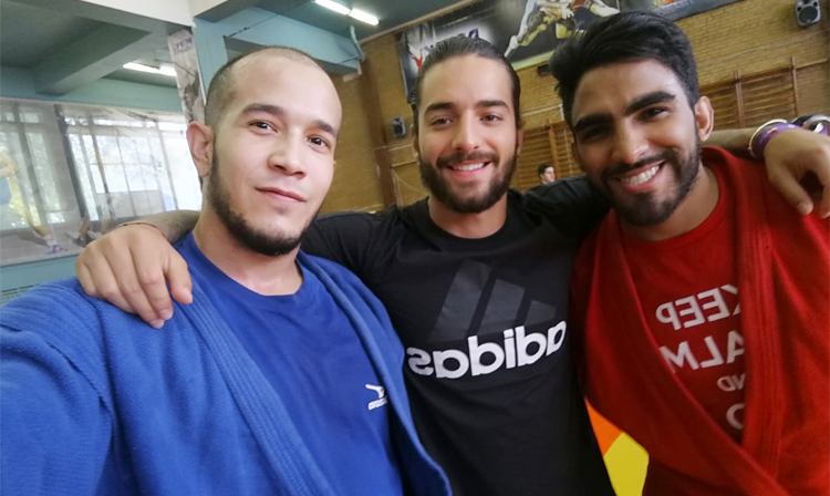 Colombian Singer Maluma Came to Football WC-2018 and Tried Himself in SAMBO