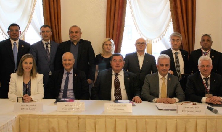 Will Qualification Strips Appear On The Sambist Belts? FIAS Executive Committee Was Held In Moscow