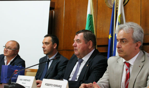 Press conference devoted to opening of Sambo World Cup in Bulgaria