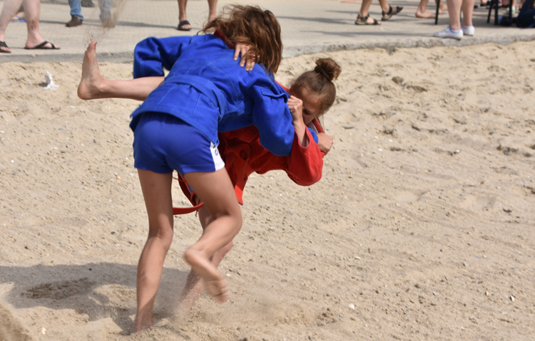 Zatoka Held Ukrainian Beach SAMBO Championships for the Second Time