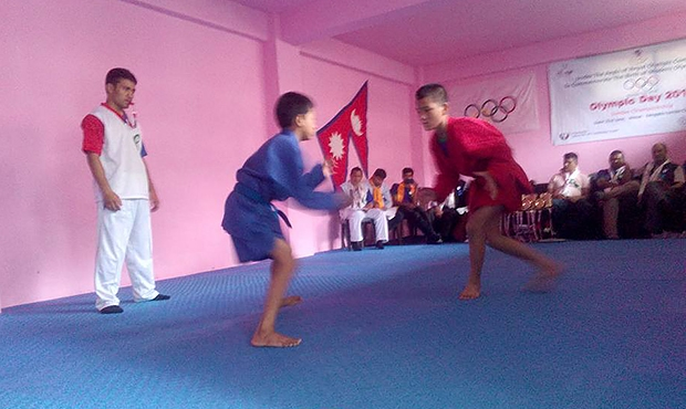Nepal Sambo Tournament in Honor of Olympic Day