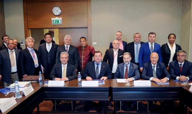 Official news from the A. Kharlampiev Memorial Sambo World Cup: a meeting of the Executive Committee of the International Sambo Federation