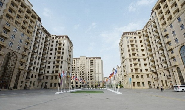 European Games 2015: Virtual Tour through the Athletes Village in Baku [photo]Европейские игры Баку 2015
