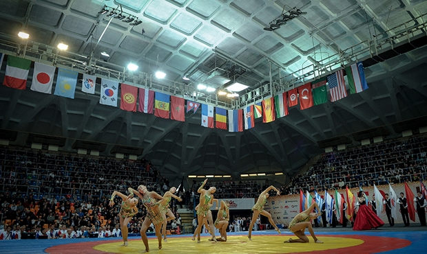 The Sambo World Cup Memorial of A. Kharlampiev: the Tournament Opening Ceremony