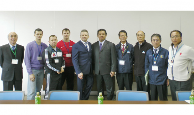 9 months before the start of the 2014 World SAMBO Championship: as we speak a little bit about how it will be