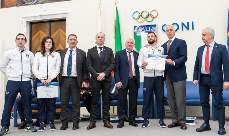 Italian Sambists were Awarded by the National Olympic Committee