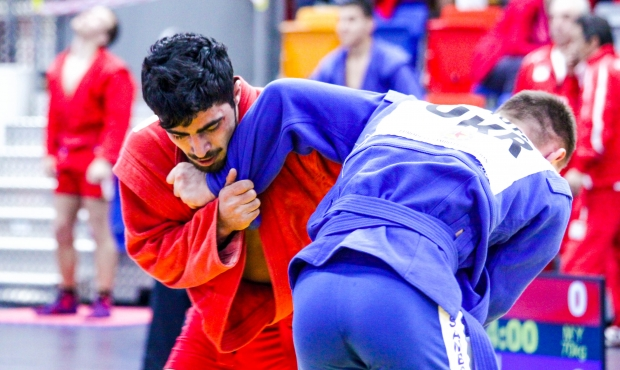 Winners of the 3 Day of the European Youth and Junior Sambo Championships in Prague