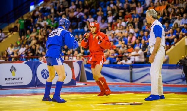 Online Broadcasting of the 1 Day of the European Sambo Championships 2017. Preliminaries