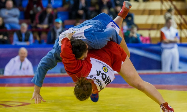 Winners of the 2 day of the International Sambo Tournament on the Prizes of the President of Belarus