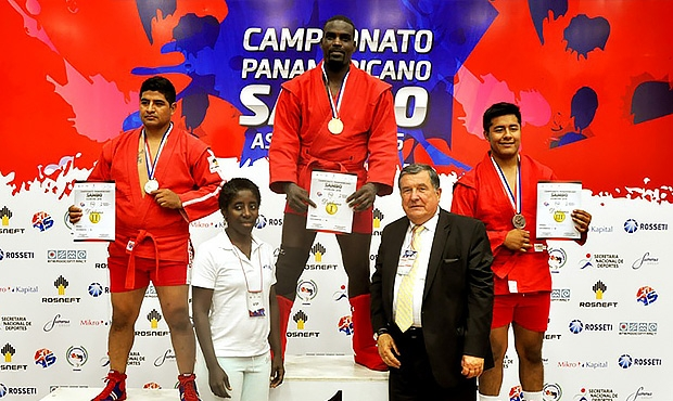 The unique Cuban Ernesto Fuertes Hilva – a record-breaker at the Pan American SAMBO Championships with 2 championships and 4 medals