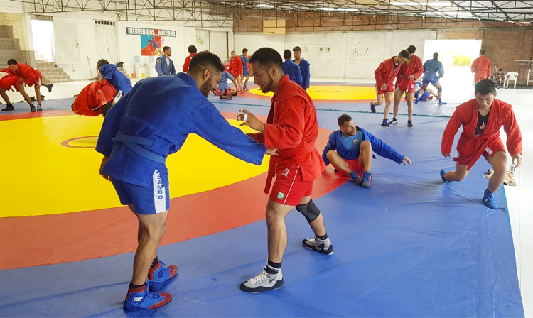 Pan American International SAMBO Training Camp Held in Colombia