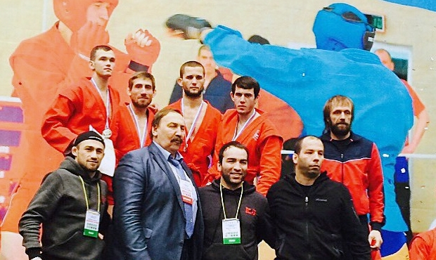 Russian Combat Sambo Championship was held in Krasnoyarsk
