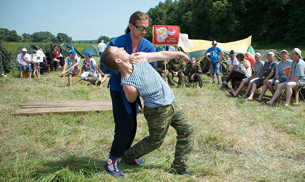 The Visually Impaired Mastered Sambo Techniques at the Patriots of Russia Rally