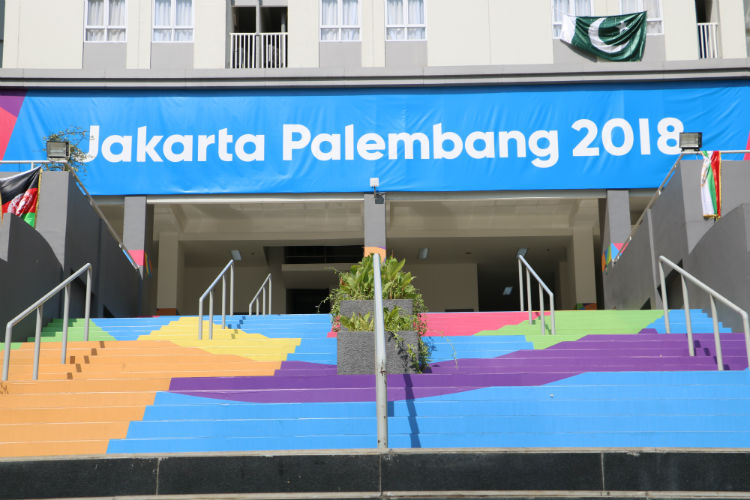 [PHOTO REPORT] A Place Where Sambists Live At the 2018 Asian Games