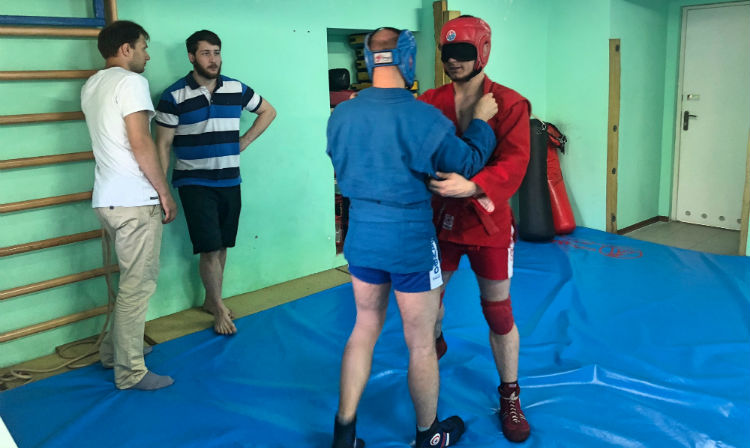 Visually Impaired Sambists Got Their Own Training Hall