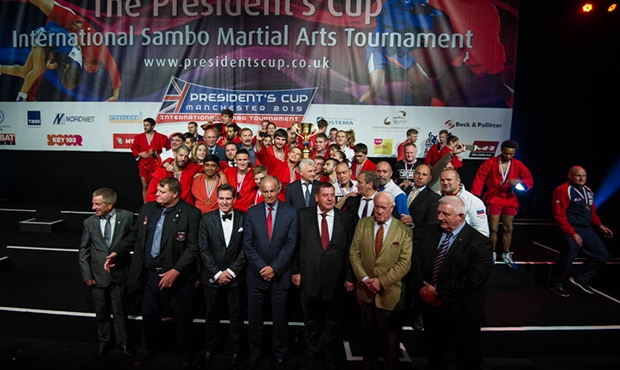 The II President's Sambo Cup in Manchester names its champions and heroes