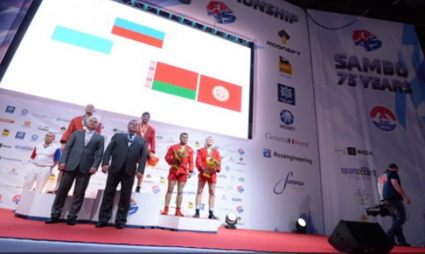 Second Day of the Sambo World Championship 2013 St.Petersburg