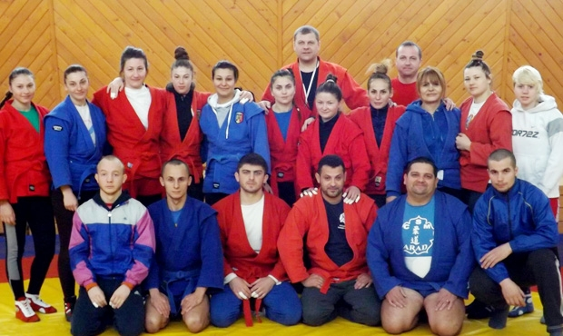 Preparation of Romanian National Sambo Team 