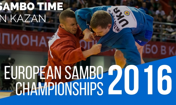 [VIDEO] Sambo Time. European Championships 2016 in Kazan