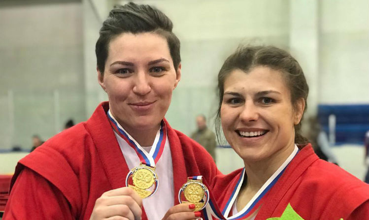 Winners of the 3rd Day of the Russian Sambo Championships 2018 in Khabarovsk
