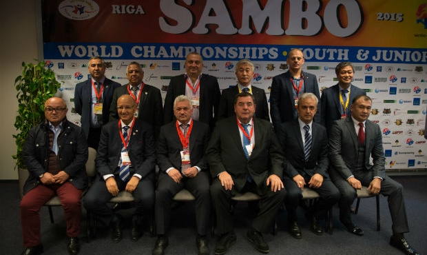 Meeting of Executive Committee of International Sambo Federation in Riga