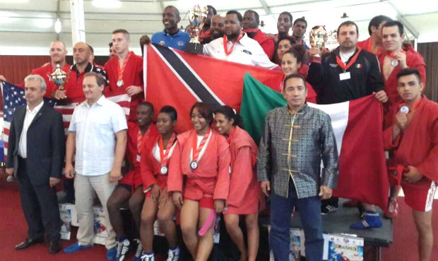 The Results of the Pan American Sambo Championship in Trinidad and Tobago