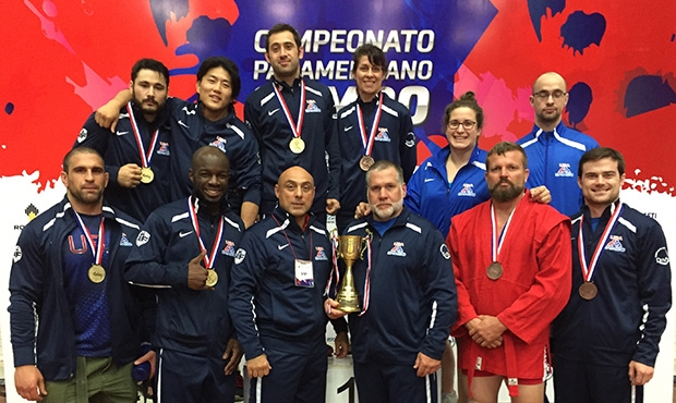 The success of the US team at the Pan-American Sambo Championship in Paraguay